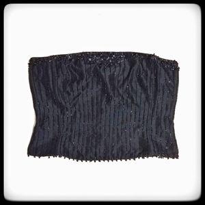 Vintage Cache Beaded Sequin Corset